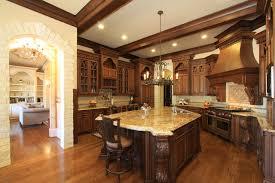 Elegant High End Kitchen Design Transitional Kitchen