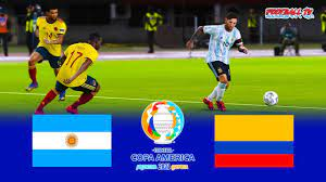 PES 2021 - Argentina vs Colombia - Full ...