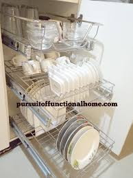 pull out kitchen rack organizer