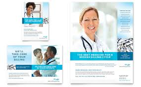 Ad Templates Medical Billing Coding Flyer Ad Template Word Publisher