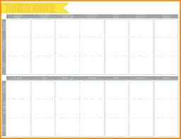 Blank One Week Calendar Blank Calendars Weekly Blank Calendar Templates
