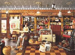 The mental retreat of putting together jigsaw puzzles intrigued me enough to write my origin story puzzle piece cut becomes even more important here. General Store This Puzzle Has Hidden Items Within It So It S Like 2 Games In One 1000 Pieces General Store Old General Stores Miniature Rooms