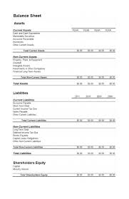 simple balance sheet example template simple balance sheet template excel sample customer