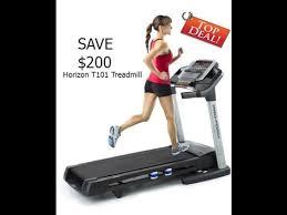 7 off horizon fitness t101 04 treadmill