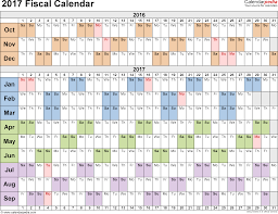Fiscal Calendar Fiscal calendars 24 as free printable PDF templates 1