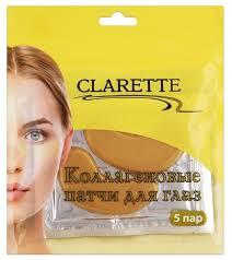 Clarette <b>Патчи для</b> глаз <b>коллагеновые</b> — купить по выгодной ...
