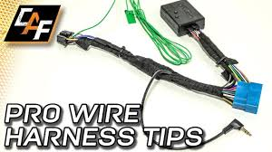 radio wiring harness how to install like a pro youtube electrical wiring harness 2003 ford focus radio wiring harness how to install like a pro
