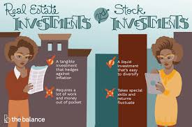 Reading Investment Charts Should You Invest In Real Estate Or Stocks