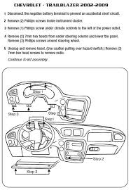 2008 chevrolet trailblazer installation parts harness wires kits bluetooth iphone tools installation instructions wire diagrams stereo