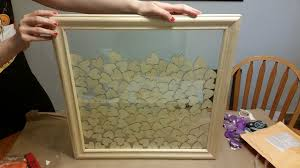 picture of how to make a guest book picture frame