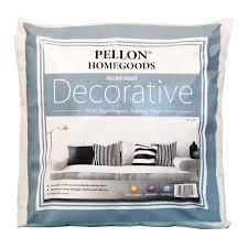 decorative pillow inserts. Plain Pillow Pellon Homegoods Decorative Pillow Inserts  18 Throughout