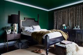 Dark Green Bedroom