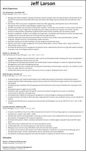 Sample Project Manager Resume Objective Project Manager Resume ResumeSamplesnet 80