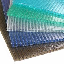 photos of foamed polycarbonate corrugated roof panel