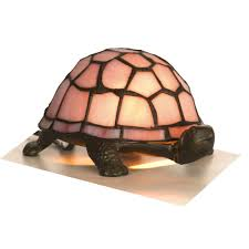 tortoise lighting. Tiffany Animals 1x25w Decorative Tortoise Light Fitting In Pink - Oaks Lighting OT 950 PI R
