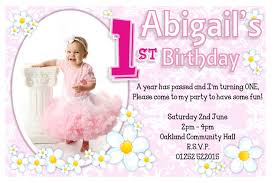 1st birthday party invitations free printable