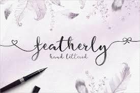 21 Beautiful Cursive Handwritten Fonts Psd Ttf Otf