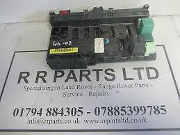 landrover fuse box replacement fuse boxes range rover l322 4 4 v8 vogue fuse box fuses and relays part no ypp000020