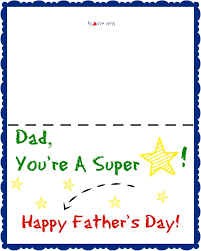 Day Cards To Print Free Printable Father S Day Card For Kids Cozy Country Living