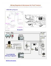 ford 8n light wiring diagram ford wiring diagrams