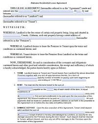 Printable Sample Residential Lease Agreement Template Form Real Magnificent Apartment Rental Agreement Template Word