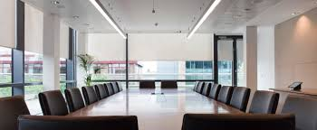 Interior Designs,Modern Office Meeting Room With Stunning Interio Design  Complete With Rectangular Meeting Table
