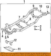 kia oem 98 02 sportage frame mount bushing 0k01939942 image is loading kia oem 98 02 sportage frame mount bushing