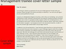 Trainee Cover Letter Sample Best Solutions Of Cover Letter For