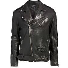 leather biker jacket for mens