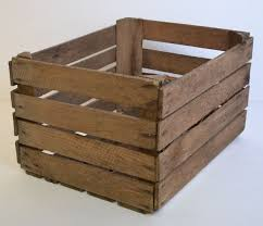 rustic wooden crates for retail displays