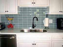 nice grey subway tile backsplash kitchen