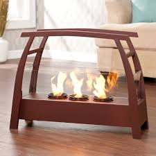 Tempered Glass Portable Fireplace Keeps You Warm Indoor U0026 Outdoor Portable Indoor Fireplace