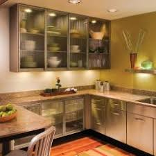 Image Glass Inserts Rusticindustrial Kitchen With Frosted Glass Cabinet Doors Maromadesign Photos Hgtv