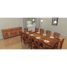 large rustic dining room table. Rustic Dining Room Large Wood Table E
