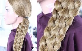 Einfache Frisuren Sch Ne Flechtfrisur Mittellange Lange Haare Einfache Flechtfrisur Lange Haare