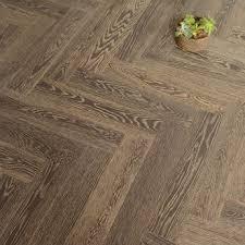 oak herringbone engineered flooring
