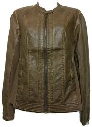 sebby collection womens size small faux leather motorcycle jacket saddle