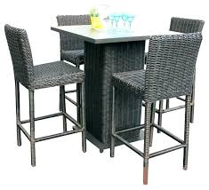 Balcony Table And Chairs High Top Outdoor Tables New Furniture Or