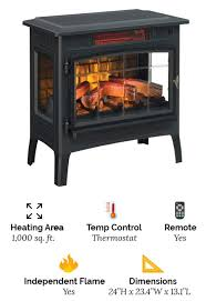 duraflame dfi 5010 01 freestanding electric fireplace