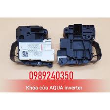 Công tắc khóa cửa máy giặt Sanyo Aqua inverter