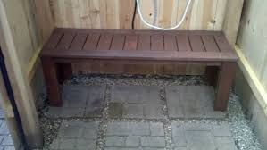 bathroom: Brown Color Of Traditional Bench Fit To Diy Shower Bench With  Cute Gravel And