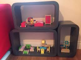 homemade doll furniture. Homemade Dolls House, Discoveroo Furniture, Upcycled Project For Kids - Doll\u0027s House Image 2 Doll Furniture