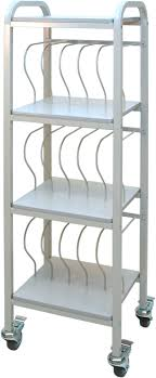 Mobile Chart Rack Mobile Chart Ring Binder Cart 15 Space 2 Binder Rolling