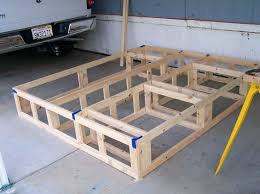 king storage bed plans. Foam Mattress Platform Beds Plans For An Easy To Build Cal King Storage Bed Use These Make A Stylish Frame With B