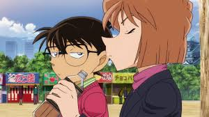 Conan x Ai (19) [EP 967 Moment] Conan is treating Haibara a takoyaki. -  YouTube