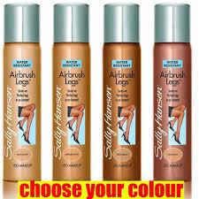 sally hansen natural beauty airbrush spray makeup light to um enhancers makeup beauty enhancers airbrushed legs
