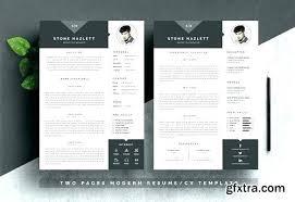 Photoshop Resume Template Resume Template Illustrator Free Resume ...