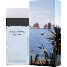 Dolce And Gabbana Light Blue 1 6 Price D G Light Blue Love In Capri Eau De Toilette Spray 1 6 Oz