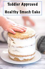 Healthy Smash Cake Recipe No Added Sugar Gluten Free First