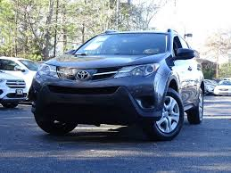 2015 Used Toyota RAV4 FWD 4dr LE at ALM Roswell, GA, IID 17376804
